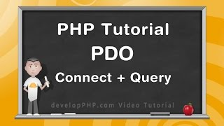 PHP PDO Tutorial Connect Database and Query Example