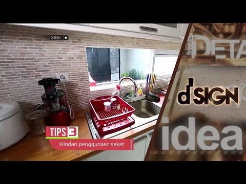 Inspirasi Penataan Kitchen Area - dSIGN