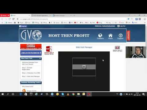 Domain név vásárlás, Wordpress telepítés a Host Then profit rendszerben