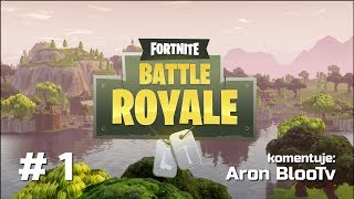 Fortnite Battle Royale Luźne Granie #1 Nowa Seria :)