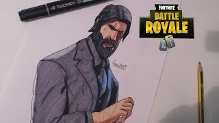 Drawing To Lord Death - FORTNITE/Speed drawing skin The Reaper - FORTNITE