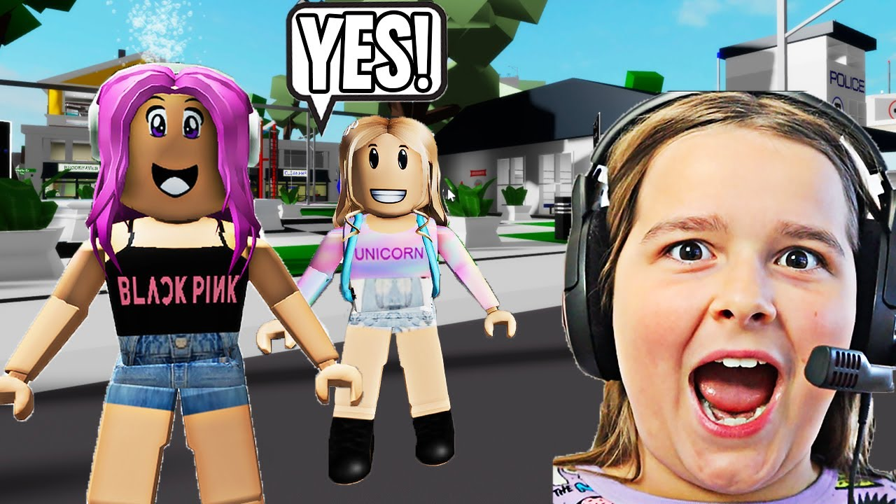YES DAY IN BROOKHAVEN!! **BROOKHAVEN ROLEPLAY**   JKREW GAMING
