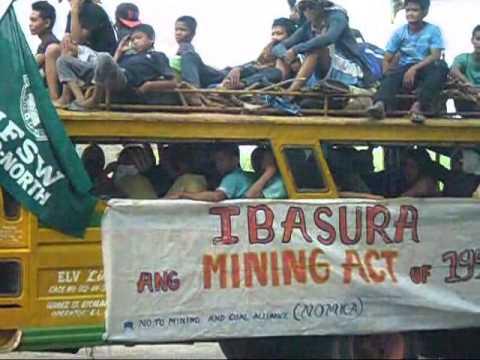 People's Caravan Against Mining in Negros