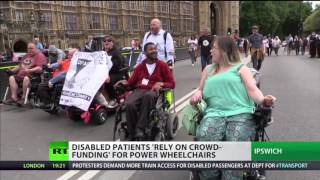 Disabled rely on crowdfunding for power wheelchairs - BMA