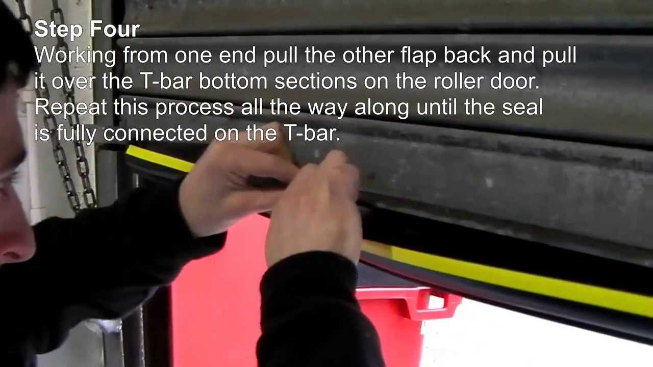 Fitting Instructions Roller Shutter Wrap Around Door Seal Youtube