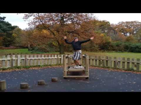 Sherwood Forest and the Major Oak - FULL VIDEO TOUR (Nottinghamshire, UK)