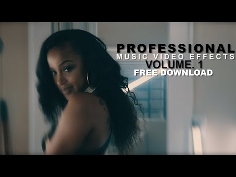 PROFESSIONAL Music Video Effects Vol. 1 + FREE PRESETS (VEDA VLOG #8)