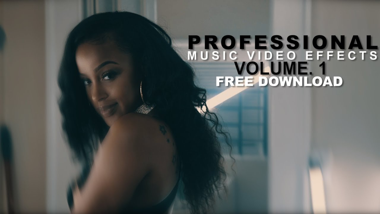 PROFESSIONAL Music Video Effects Vol  1 + FREE PRESETS (VEDA VLOG #8)