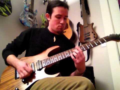 Kenny Jihad by Human Fuse guitar cover Seymour Duncan SH-5 Custom 7 string EVH 5150 III metal/djent