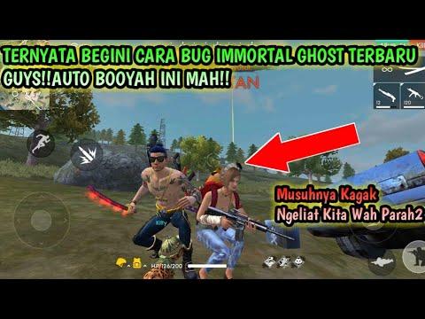 TERNYATA!! BEGINI CARA BUG IMMORTAL GHOST TERBARU AUTO BOOYAH INI MAH GARENA FREE FIRE INDONESIA