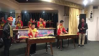 SMP Pax Christi Manado performs Kolintang at KJRI Melbourne 2019