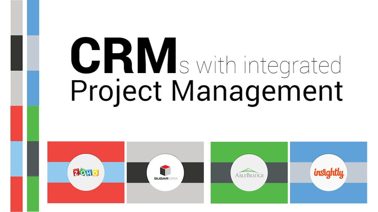 CRMs with Integrated Project Management - YouTube