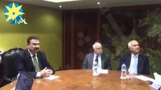 بالفيديو.. وزير النقل يلتقى وفد من رؤساء منظمات واتحادات النقل البحري الدولي