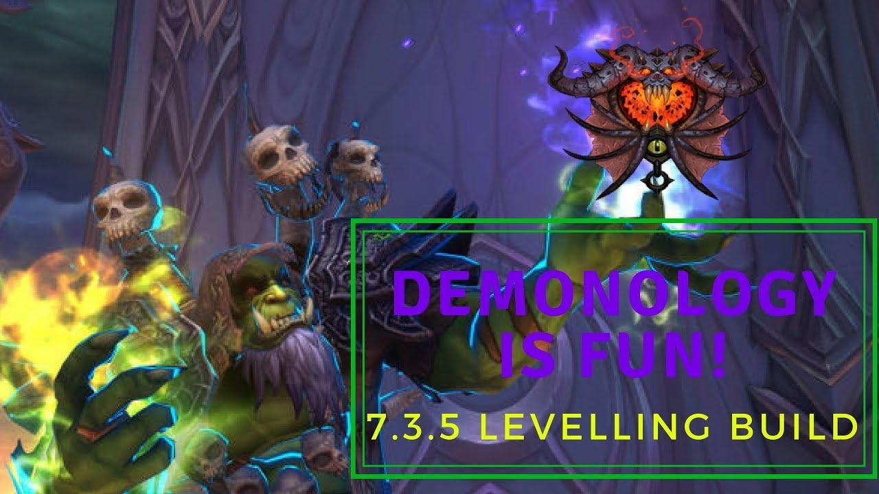 It S Fun Demonology Warlock 7 3 5 Leveling Tips Youtube