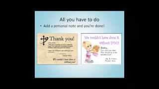 Thank You Cards For Church Volunteers, How To Combine Technology With A Personal Touch