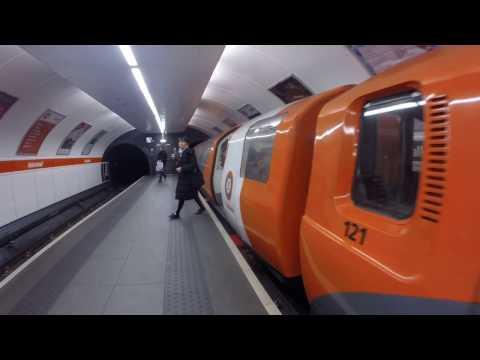 Kelvinhall to Partick on the Glasgow Underground