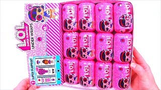 12 LOL Surprise Unboxing BOX! NEW Series 12 КУКОЛ ЛОЛ MINI КАПСУЛЫ РАСПАКОВКА Мультики для детей