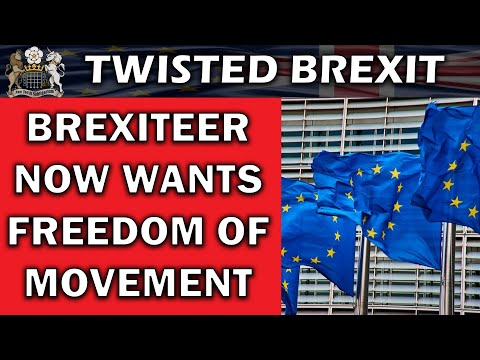 Brexit Supporter Wants Freedom Of Movement Now
