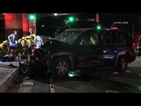 Possible Fatal Crash / Sherman Oaks     RAW FOOTAGE thumbnail