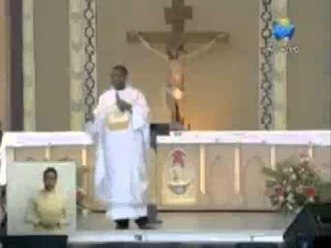 padre fala abertamente contra o pt   Santa Missa Canção Nova Pe  José Augusto 05 10 2010