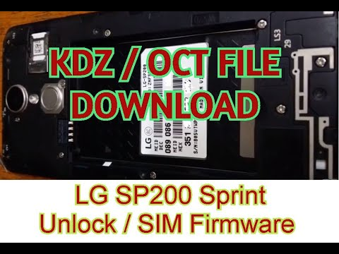LG SP200 Unlock Firmware and backup - Emerlits Gsm Service