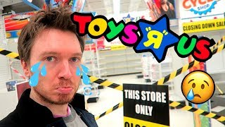 TOY HUNT!! GOODBYE TOYS R US!