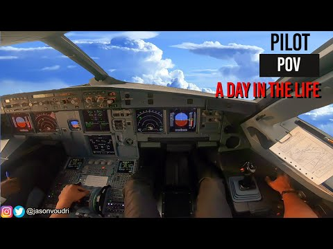 A Day in the Life as an Airline Pilot - PILOT POV | A320 MOTIVATION [HD]