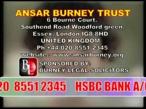 ansar burney trust international