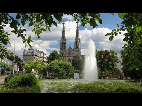Baden-Baden, Germany, 4K