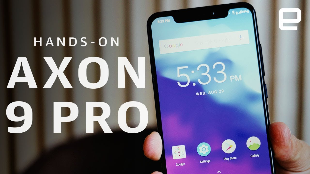 ZTE Axon 9 Pro Hands-On at IFA 2018