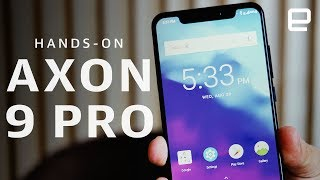 ZTE Axon 9 Pro Hands-On at IFA 2018