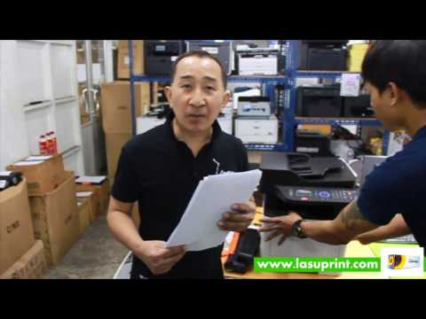 Printing Test of Laser Toner Samsung MLT D204L For Samsung ProXpress M3375FD Printer with LASUPRINT