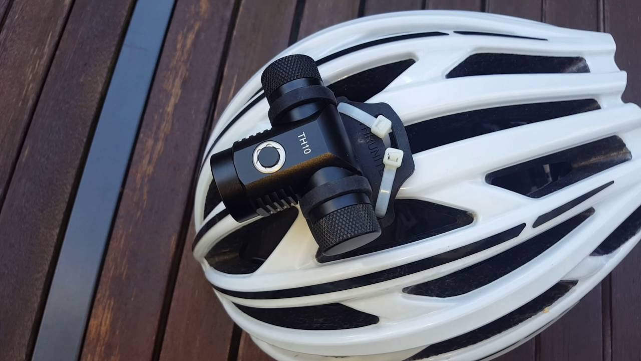 Thrunite Th10 Led Light Mount For Bicycle Helmet Perfect And Secure