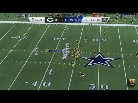 MADDEN NFL 20 PACKERS Vs COWBOYS WEEK 5 LIVE STREAM