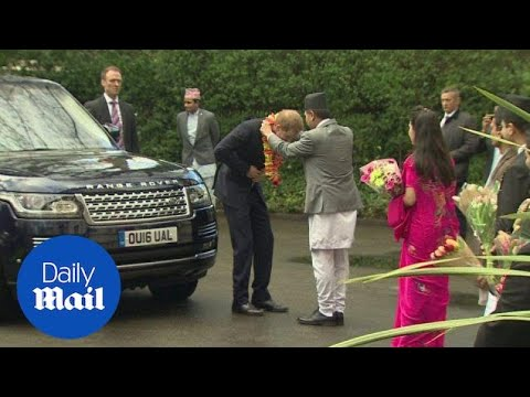 Prince Harry Marks UK-Nepal Relationship At Embassy - Daily Mail