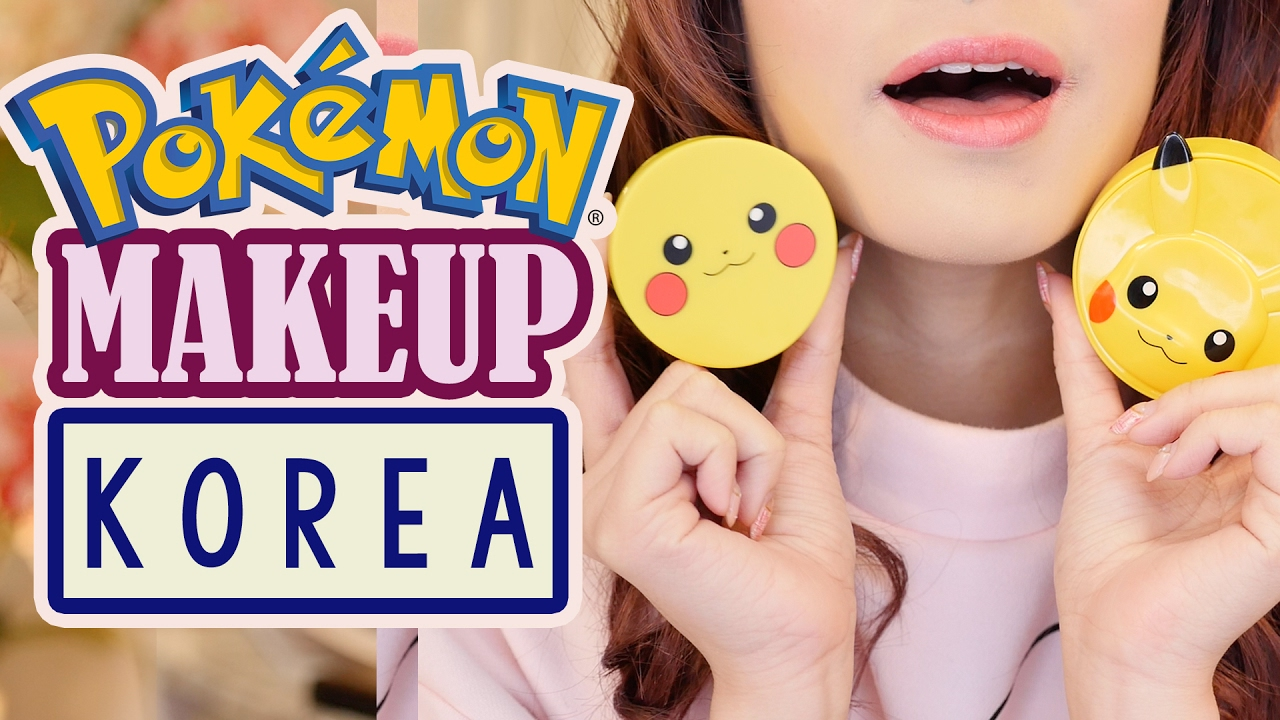 *NEW* POKEMON MAKEUP from KOREA