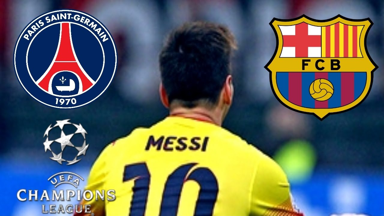 Psg vs barcelona uefa champions league gol de messi for Trenhotel de barcelona a paris