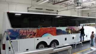 Evolution Ink Bus Wrap
