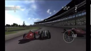 Indianapolis 500 Legends Wii Gameplay Part 2