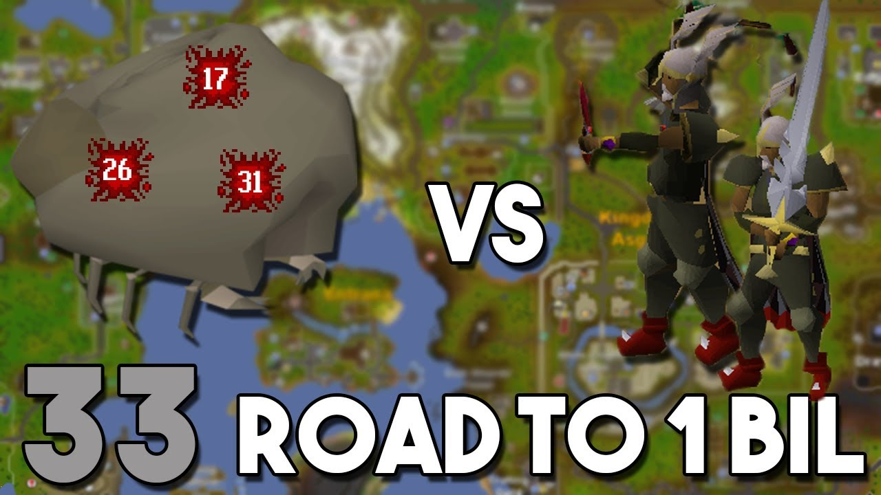 Destroying the New Ammonite Crabs For Massive Melee EXP - Road to 1 Bil  From Nothing - Ep 33 [OSRS]