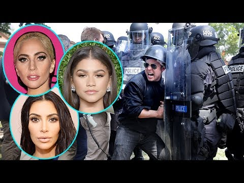 Celebs React to Violence in Charlottesville - Lady Gaga Fans Upset Over Her Tweets