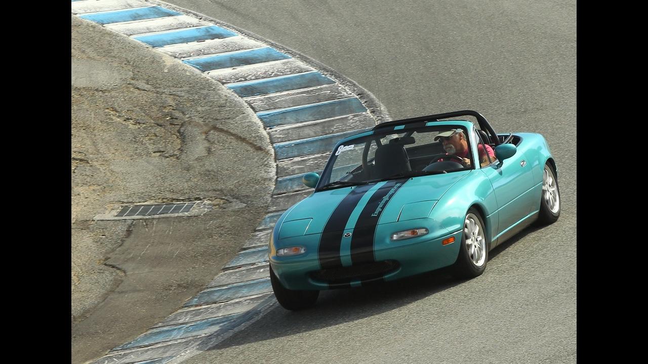Mazda Miata Racing Stripes