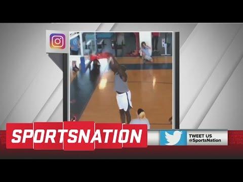 Shaq Dominates Average-Sized Defender And Dunks   SportsNation   ESPN