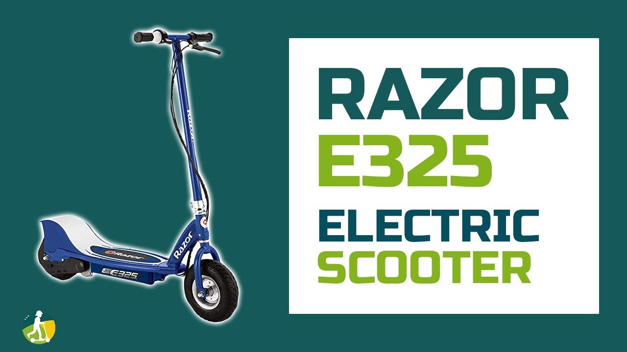 Razor E325 Review Best Electric Scooter Youtube