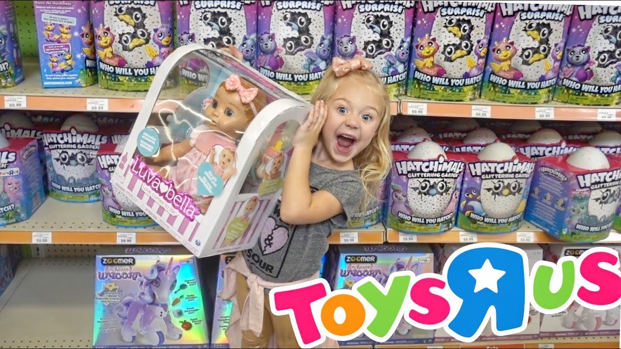 HUGE TOYS R US HAUL HATCHIMALS BABY ALIVES AND SO MUCH MORE