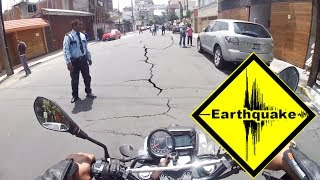 Biker FREAKS Out During Earthquake |  EPIC MOTO MOMENT