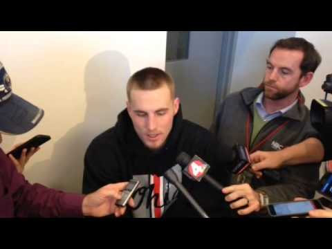Ohio State TE Jeff Heuerman after Indiana win