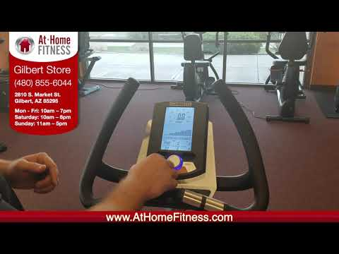 AtHomeFitness.com Gilbert - 3G Cardio Upright and Recumbent Bike Console Tutorial thumbnail