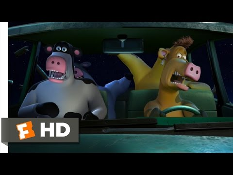 Barnyard (8/10) Movie CLIP - A Cow In Our Car! (2006) HD thumbnail