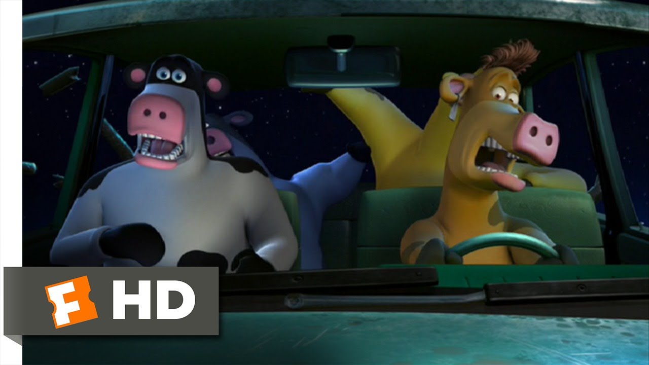 barnyard 8 10 movie clip a cow in our car 2006 hd youtube